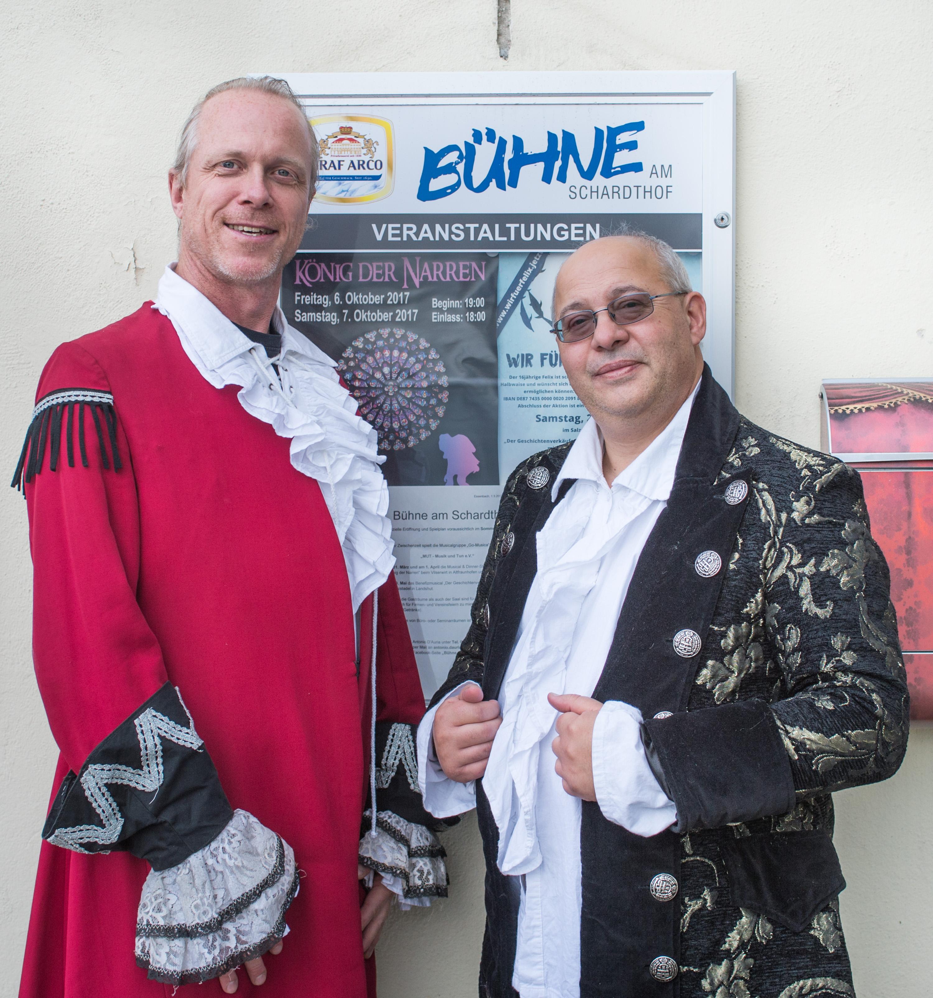 Die beiden Vorsitzenden des Vereins MUT e.V.